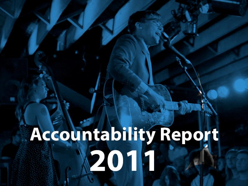 Accountability Report 2011