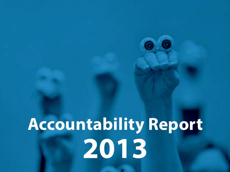 Accountability Report 2013