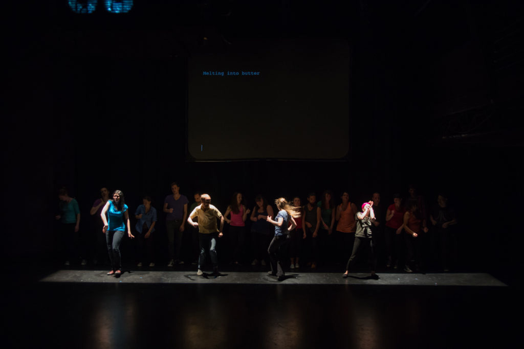 Beautiful Young Artists performs in One Yellow Rabbit's Radioheaded 2