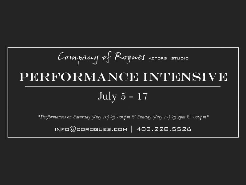Company of Rogues Performance Intensive