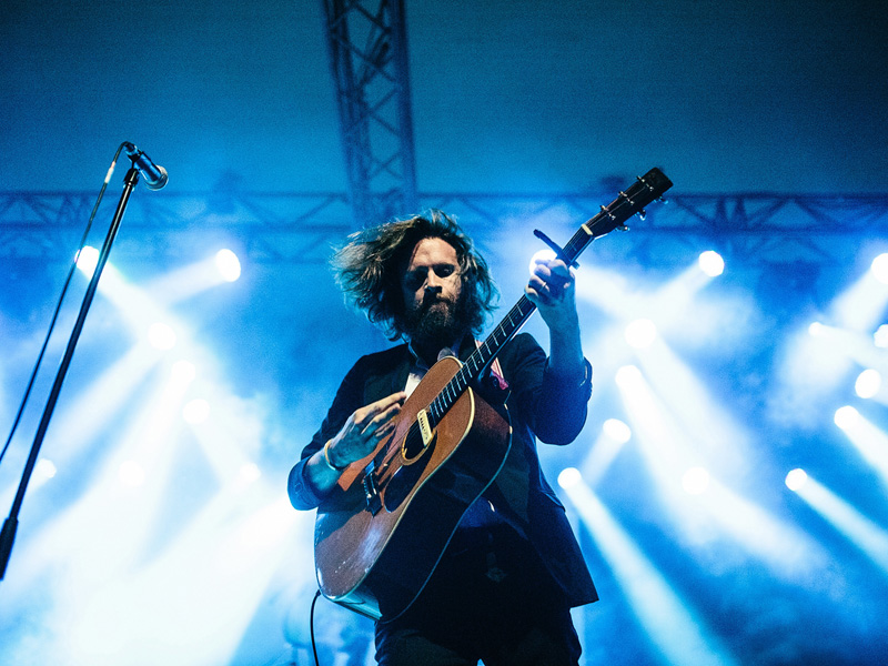 Father John Misty plays at the 2015 Calgary Folk Fest | Photo: Mike Tan