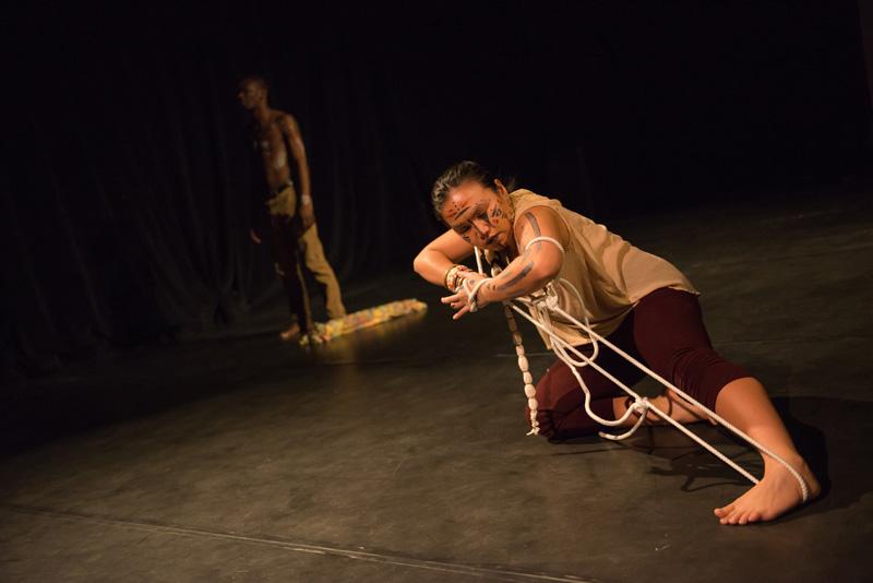 Krizia Canvas Carlos and Aris Nsungani perform in Soulocentric's Dance Cabaret 2015 | Photo: Benjamin Laird Arts & Photo