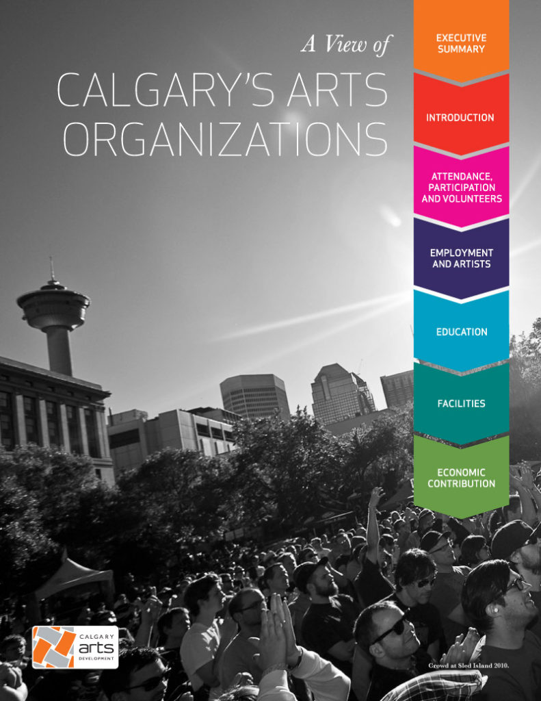 A View Of Calgary's Arts Organizations Cover