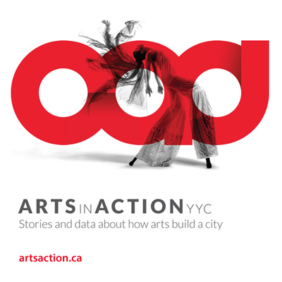 Arts in Action YYC Logo