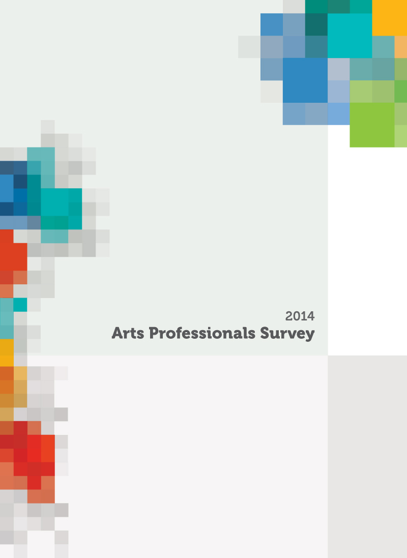 Arts Professionals Survey 2014 Cover
