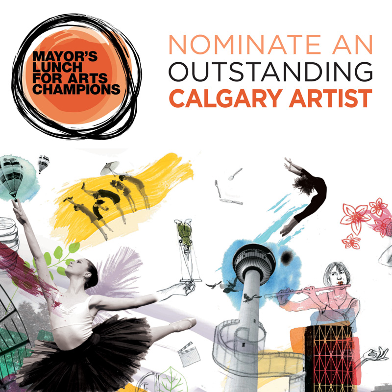Nominate an Outstanding Calgary Artist