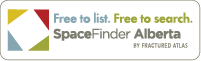 Free to list. Free to search. SpaceFinder Alberta.