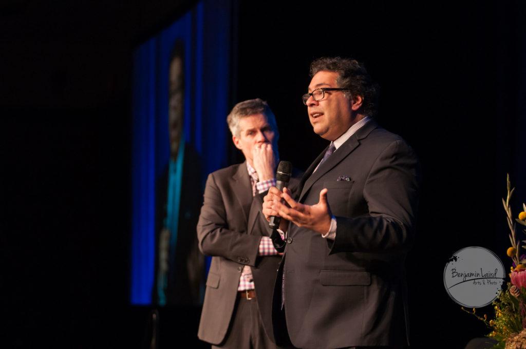 Dave Kelly and Mayor Naheed Nenshi