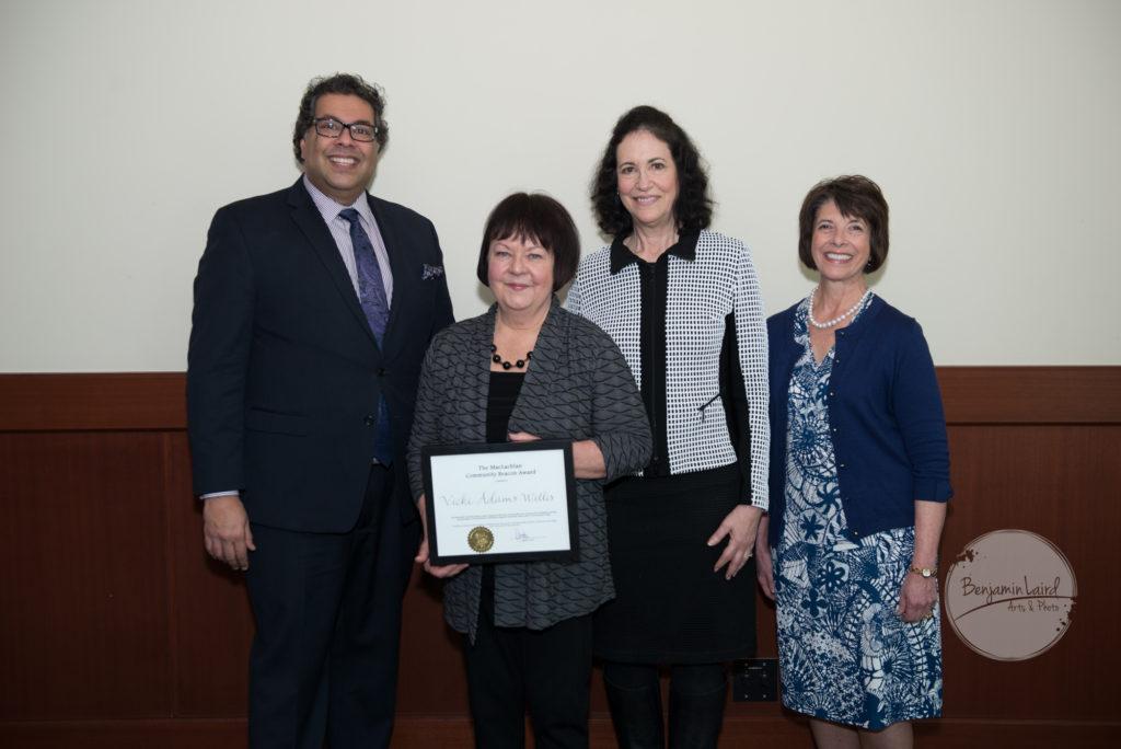 MacLachlan Community Beacon Award Recipient Vicki Adams Willis