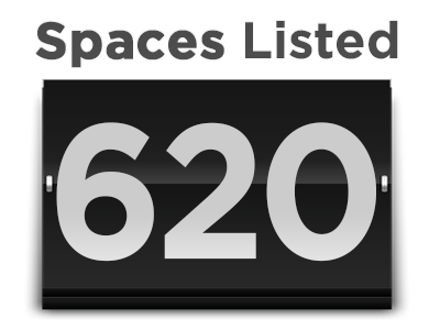 Image - Spaces Listed 620