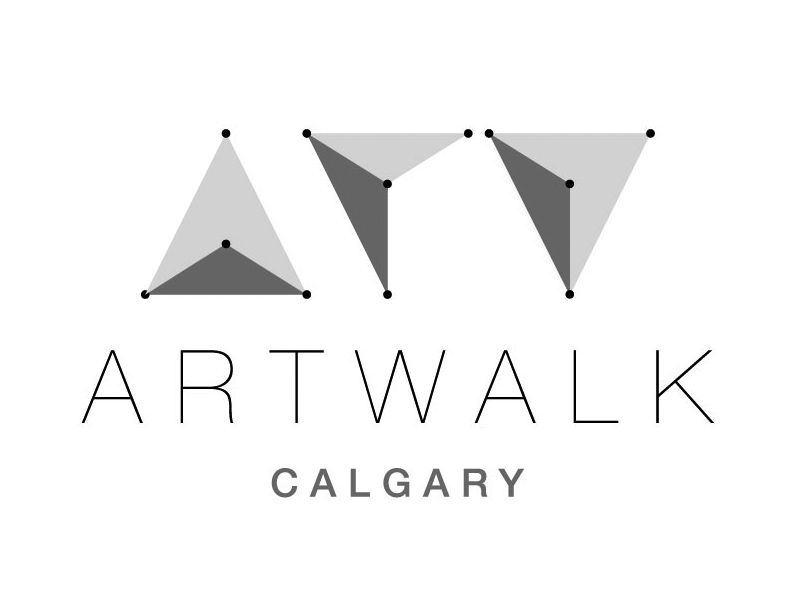 ArtWalk Calgary logo