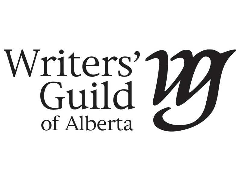 Writers Guild of Alberta logo