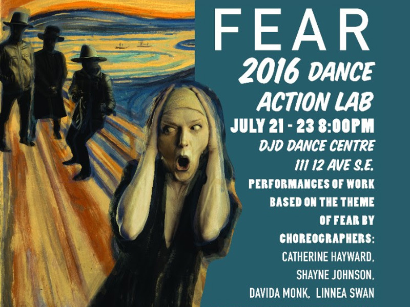 Catch 2016 Dance Action Lab: Fear, July 21 to 23, 2016 | Photo: Courtesy of Dancers' Studio West