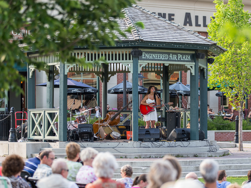 Swing by Heritage Park each Wednesday this summer for a free concert | Photo: Courtesy of Heritage Park