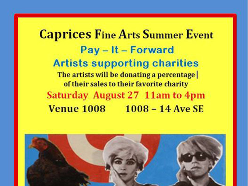 Caprices Fine Arts Pay-It-Forward