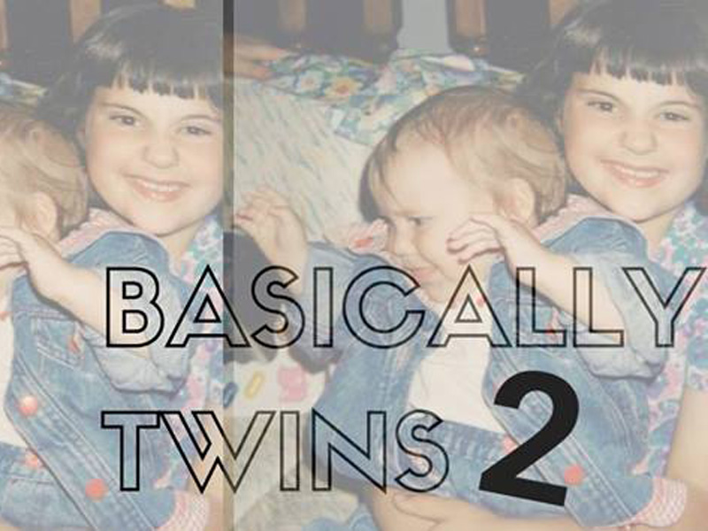 Basically Twins Two sees sisters Carly and Anyssa McKee face off once again for improv supremely | Photo: Courtesy of Basically Twins