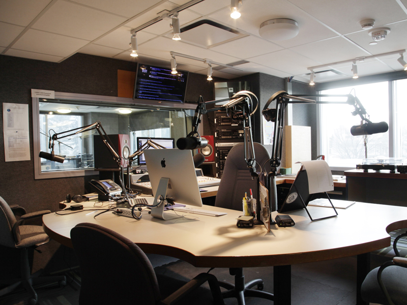 CJSW's on-air booth | Photo: Courtesy of CJSW