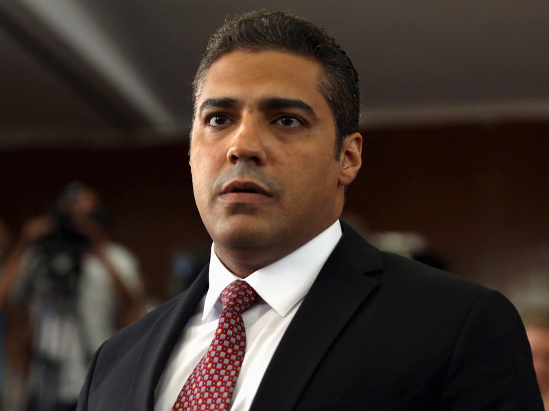 Award-winning and formerly imprisoned journalist and author, Mohamed Fahmy   Photo: Courtesy of the Jeff Jacobson Agency