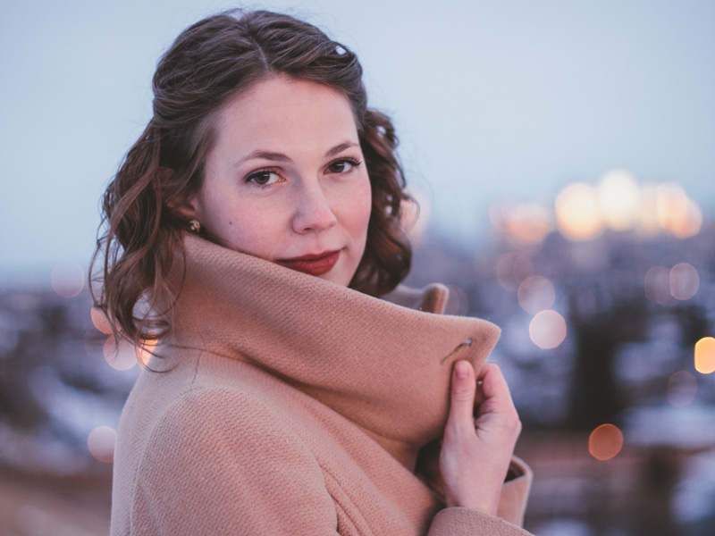 Calgarian soprano Brittany Rae joins pianist Claire Butler this week for ProArts@Noon | Photo: Allison Seto