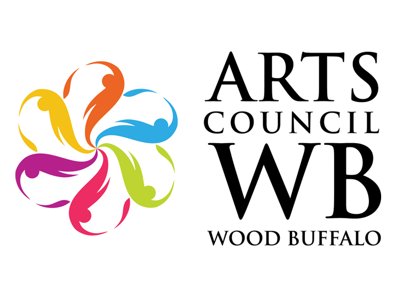 logo image - Arts Council Wood Buffalo