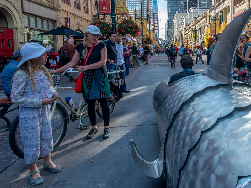 Four-To-Six returns to Stephen Ave. once again as Beakerhead hits the streets this September | Photo: Curtis Anderson