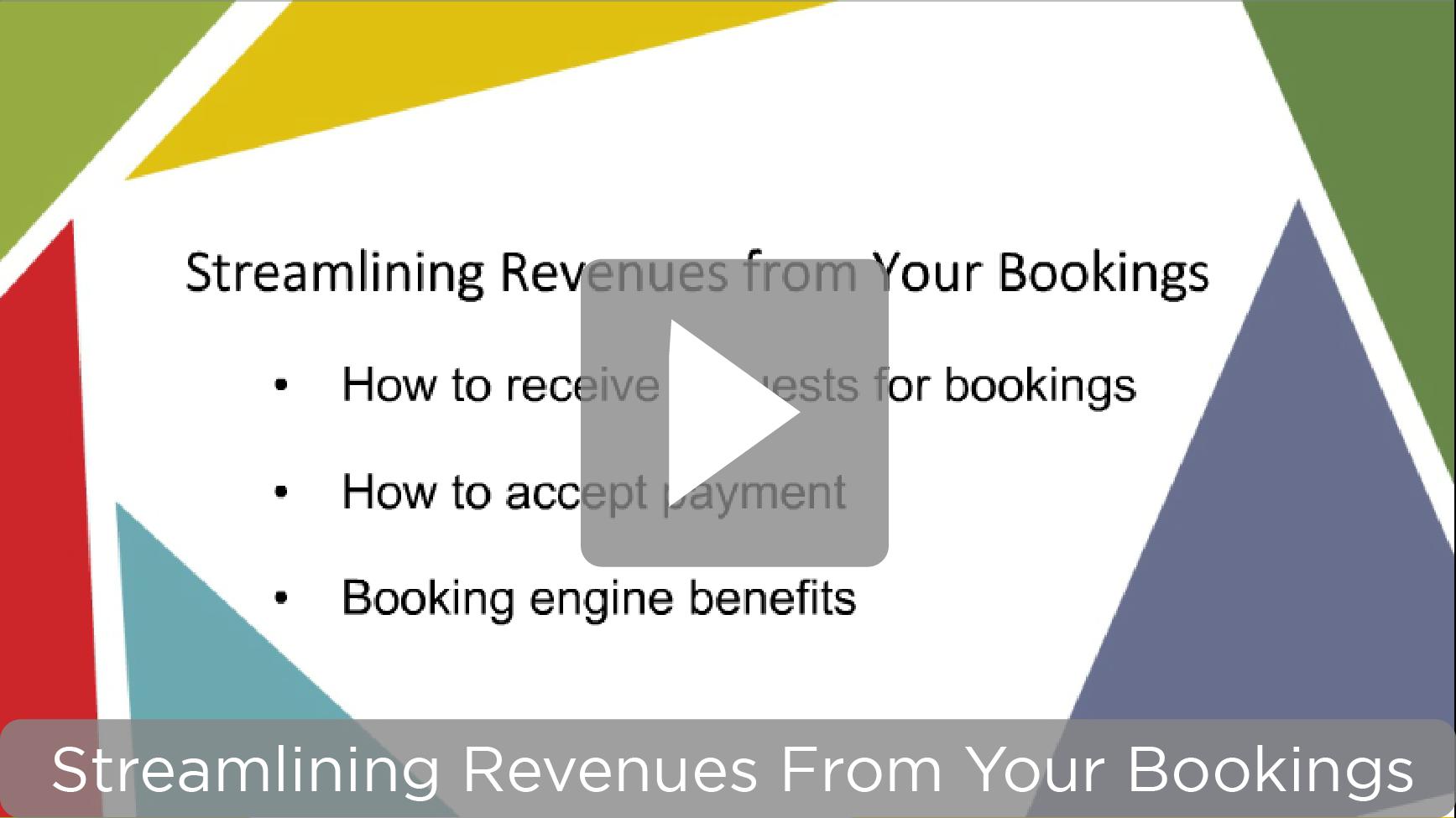 Video link – Streamlining Revenues webinar