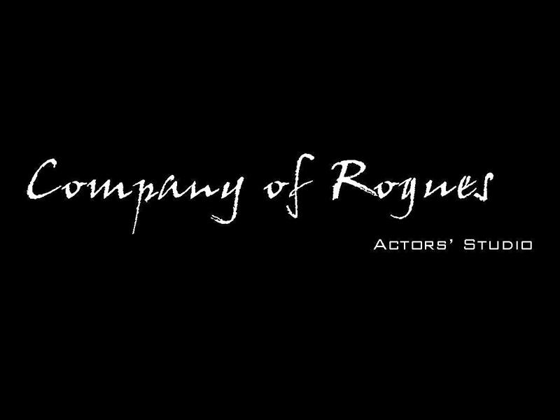 Company of Rogues Actors Studio logo on black
