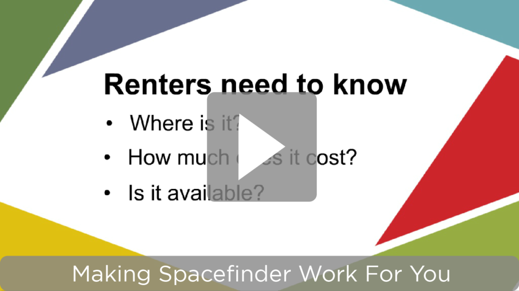 Making SpaceFinder Work For You