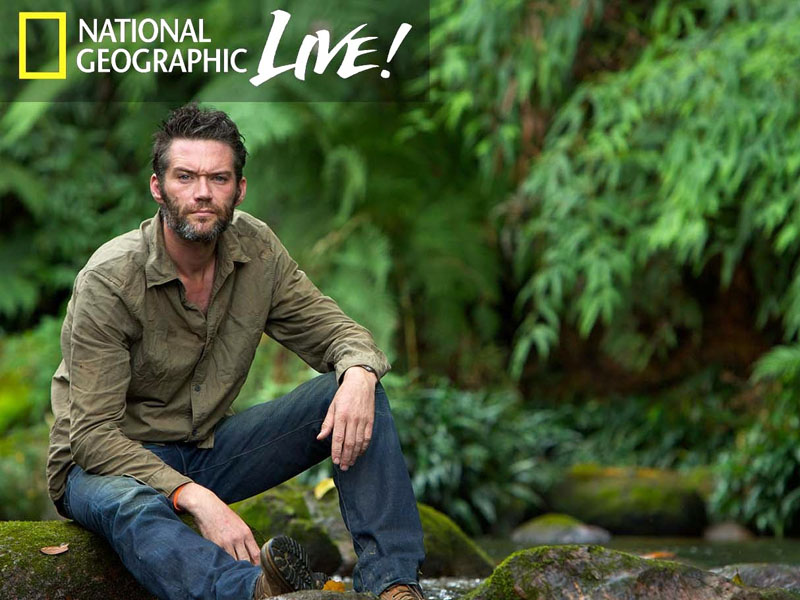 I Bought a Rainforest with photojournalist Charlie Hamilton James
