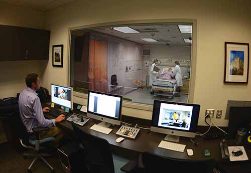 W21C's state of the art Healthcare Human Factors and Simulation Laboratory | Photo: Courtesy of W21C