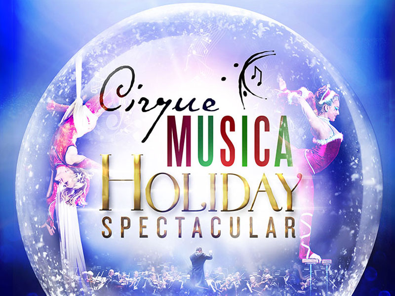 Cirque Musica returns to the Calgary Philharmonic Orchestra December 2 and 3 | Image: Courtesy of the CPO