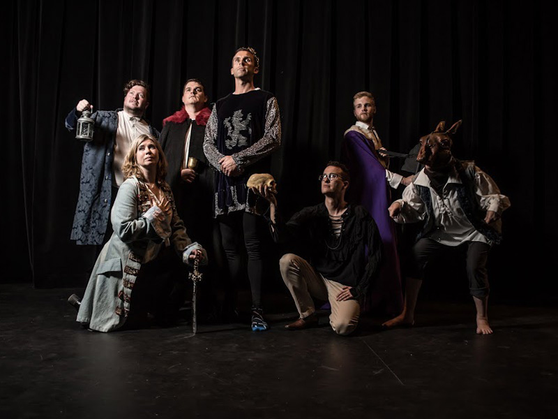 The Kinkonauts in their Shakespearian best