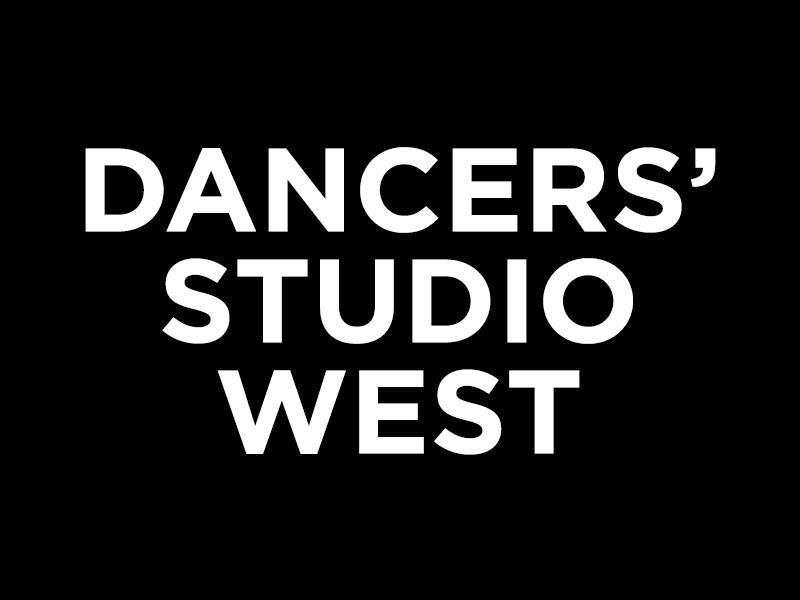 Dancers studio west text