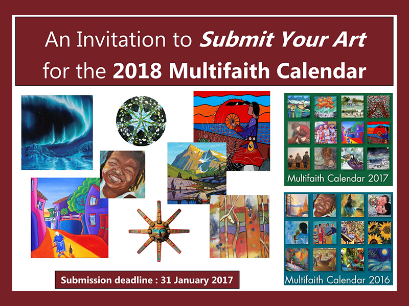 image – Multifaith Calendar Call for submissions