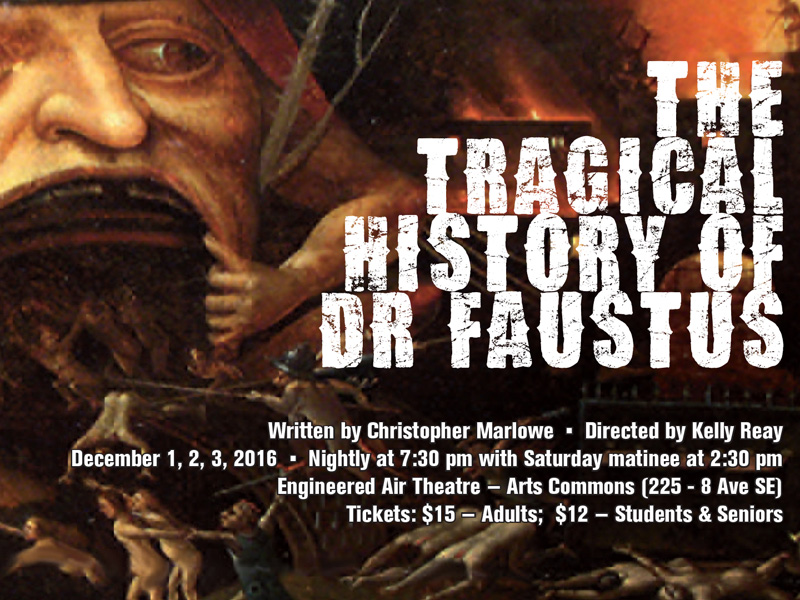 the tragical history of dr faustus Home / the tragical history of the life and death of doctor faustus, by christopher marlowe, 1620.