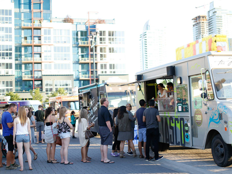 Fiasco Gelato serves up cold treats from its popular food truck | Photo: Courtesy of Fiasco Gelato