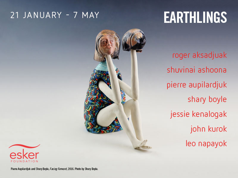 Don't miss the opening reception of Earthlings at the Esker Foundation on January 20 | Image: Courtesy of the Esker Foundation