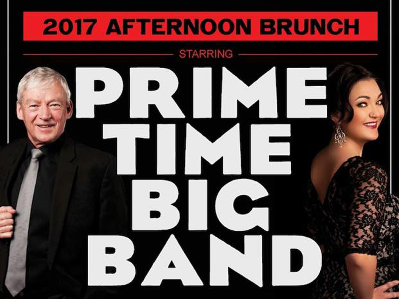 Poster for Prime Time Big Band: Big Band Brunch