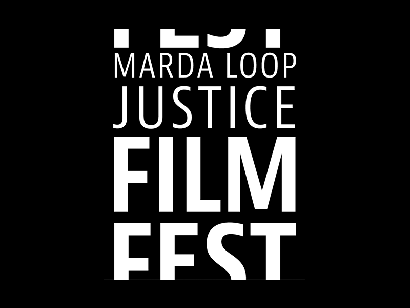 Logo image – Marda Loop Justice Film Fest