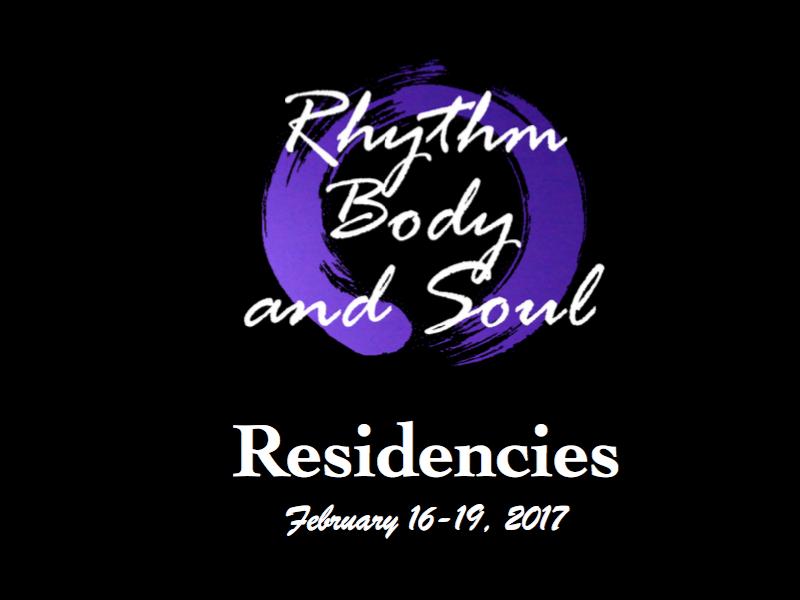 Logo image – Body Rhythm and Soul residencies