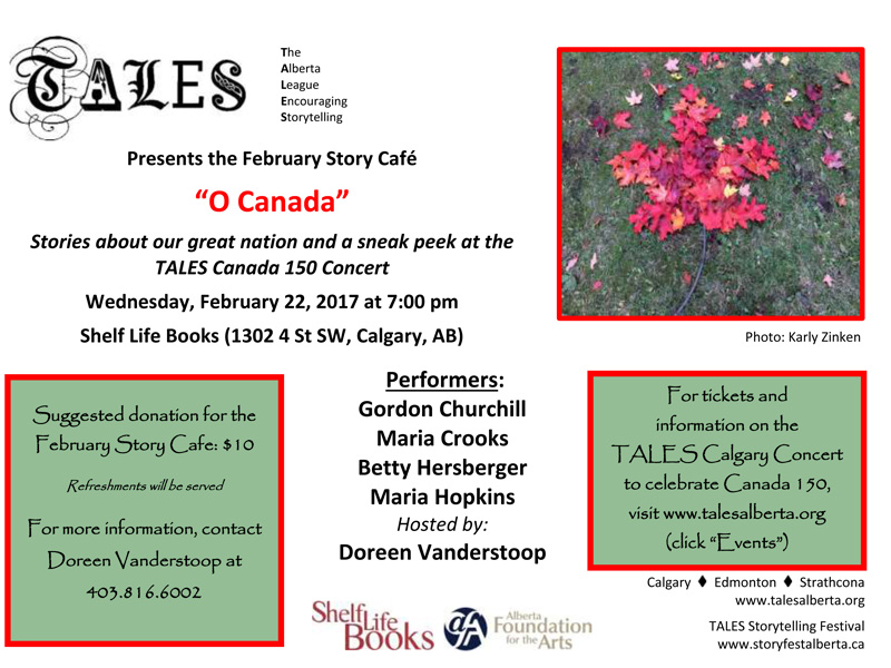 Poster for TALES Presents O Canada