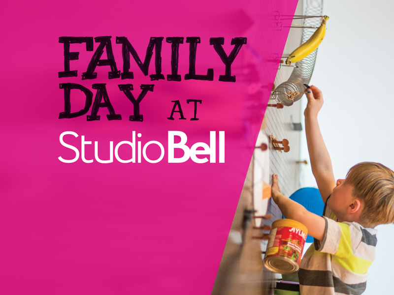 Poster for Family Day at Studio Bell