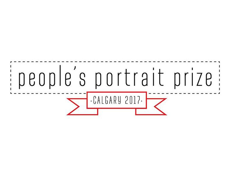 Logo image - Peoples Portrait Calgary 2017