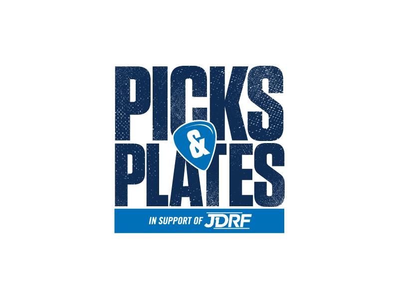 Logo image – Picks and Plates