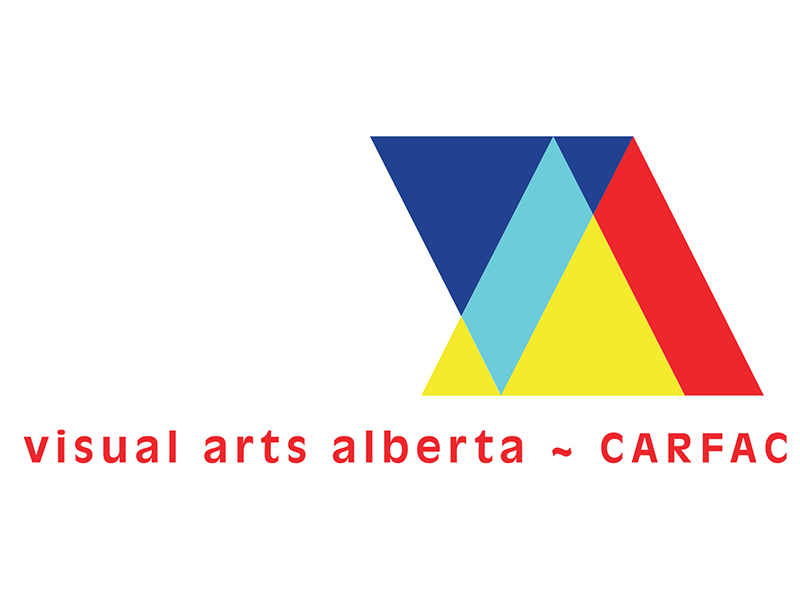 Logo image – Visual Arts Alberta