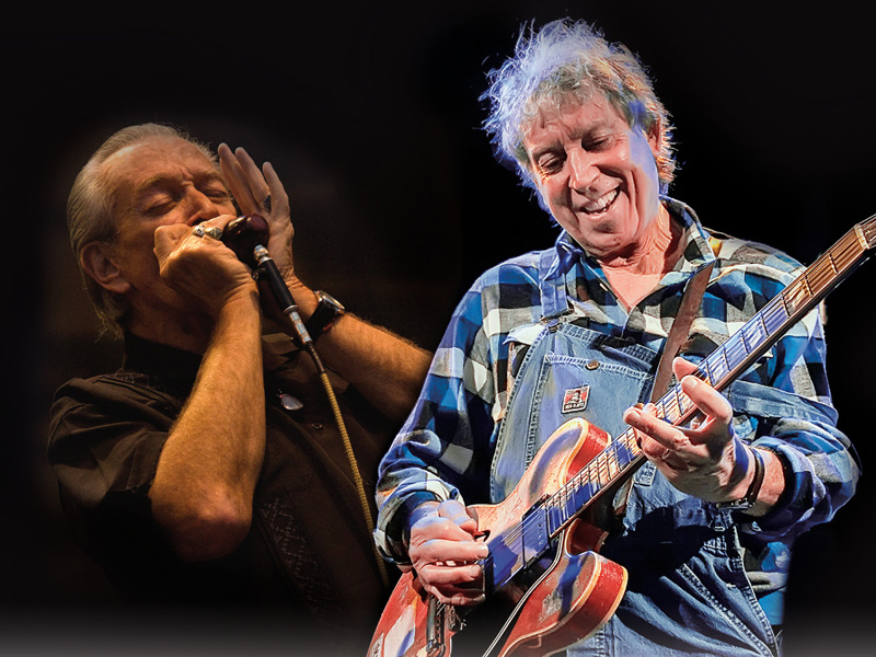 Arts Commons Presents Elvin Bishop & Charlie Musselwhite