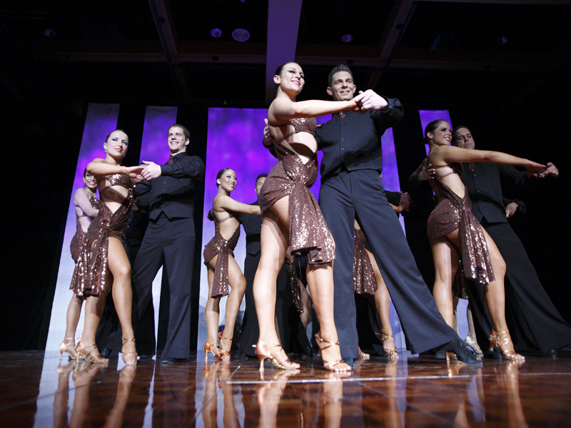 Photo of dancers at the Calgary International Salsa Congress