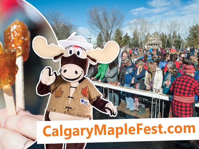 Poster for Calgary Maple Festival des Sucres