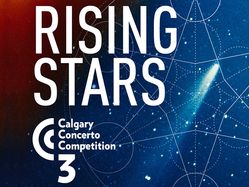 Poster for Calgary Civic Symphony's Rising Stars