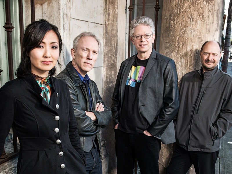 A photo of Kronos Quartet